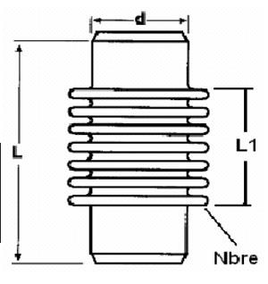 Fémkompenzátor szerkezeti ábra